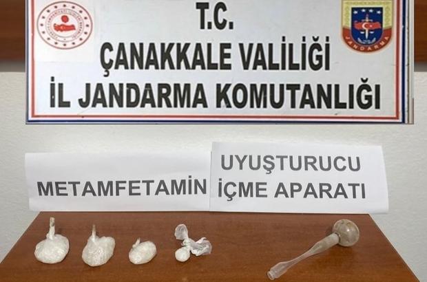 Çanakkale'de uyuşturucu operasyonu: 4 gözaltı