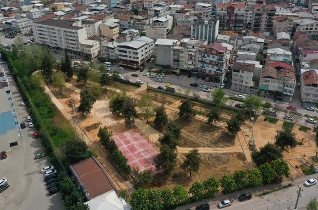 Nilüfer'in parklarında hummalı çalışma Park ve çevreleri 17 Mayıs sonuna hazırlanıyor