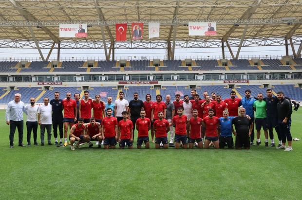İçel İdmanyurdu, 2. Lig'e çıkmak istiyor İçel İdmanyurdu, Isparta 32 maçına hazırlanıyor Mersin ekibi, avantajlı bir sonuçla kente dönme hedefinde