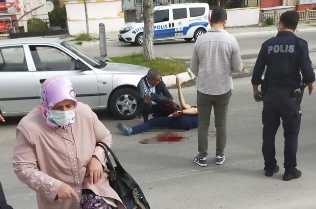 Yol verme meselesi yüzünden tartıştığı kişiyi silahla yaraladı