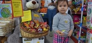 Çanakkale'de çocuklar için ücretsiz 'göz hakkı' sepeti