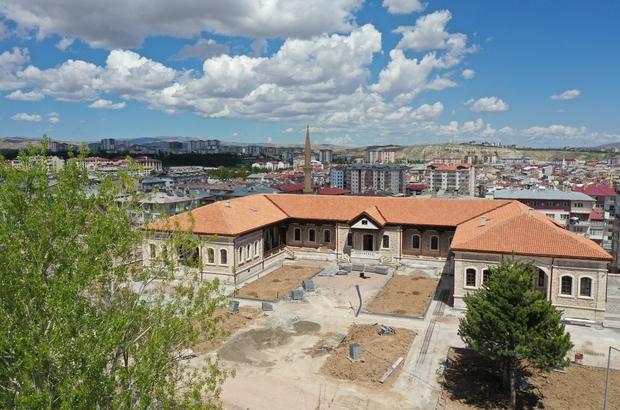 Cezaeviydi müzeye dönüştürülüyor, açılışı için gün sayıyor Sivas İl Özel İdaresi tarafından cezaevinden müzeye dönüştürülen 'Şehir ve Sanayi Mektebi Müzesi' açılışı için gün sayıyor