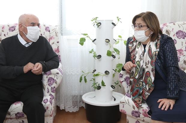 Fatma Şahin'den Alzaymır hastasına moral