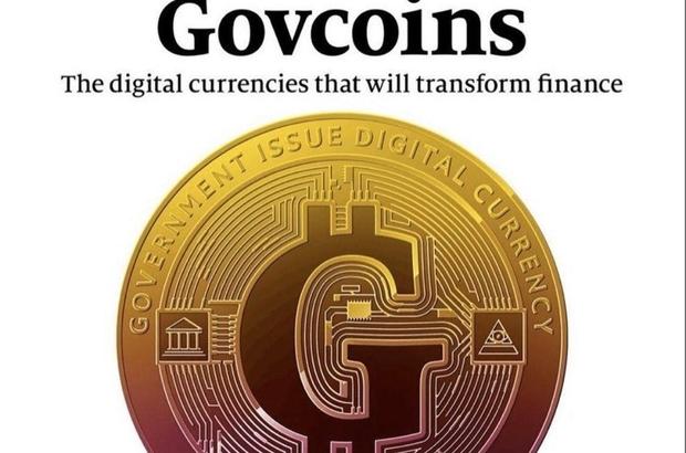 The Economist'ten dikkat çeken kapak Devletlerin 'Govcoins'i mi olacak?