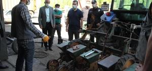 Kaymakam Demirer'den sanayi esnafına ziyaret