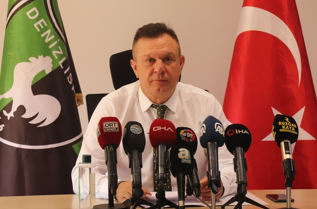 """3 yıllık bilançoyu açıklayan Başkan Ali Çetin: """"Biz başaramadık"""" Denizlispor'un güncel borcu 90 milyon TL """"İnsanlar isteyince gitmeyiz, biz isteyince gideriz"""""""