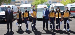 Başkan Güder'den Trafik Haftası ziyaretleri