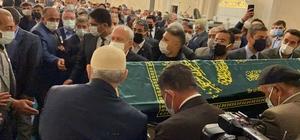 Eski Devlet Bakanı Erhan, Ağrı'da toprağa verildi