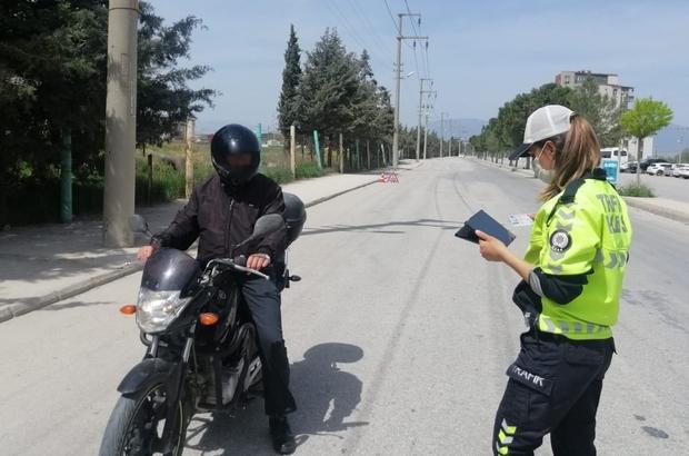 Burdur'da 26 motor sürücüsüne ceza