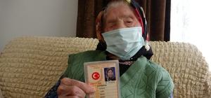 O Trabzon'un en yaşlı annesi 106 yaşında 5 çocuk annesi 60 torun sahibi Ayşe Üçüncü uzun yaşamanın sırrını az yemeye bağlıyor