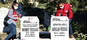 Elazığ'da 250 gönüllüden, mezarlıklarda vefa hizmeti Türk Kızılay'ın 250 gönüllüsü, Ramazan Bayramı öncesinde, kısıtlama nedeniyle vatandaşların kabirlere gidemeyeceğini düşünerek, mezarlıkları ziyaret edip dua ederek, kabirlerde bakım ve temizlik gerçekleştirdi