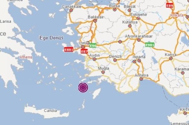Oniki Adalar'da 4.0 büyüklüğünde deprem meydana geldi