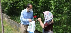 Karadeniz'in çalışkan kadınları Anneler Günü'nde unutulmadı