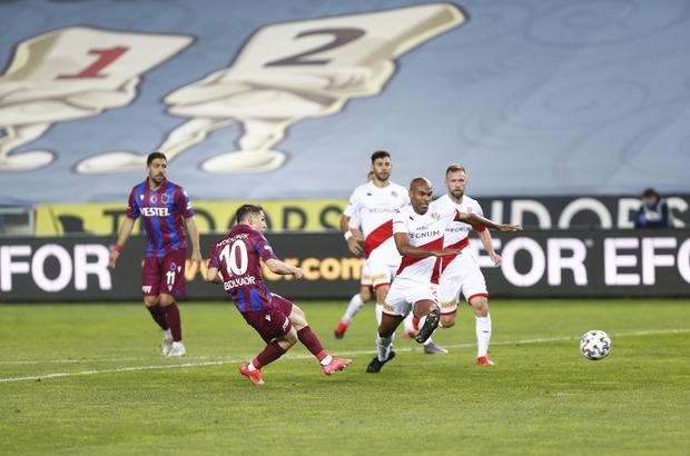 Süper Lig: Trabzonspor: 2 -  Antalyaspor: 1 (Maç sonucu)