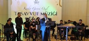 Palandöken Belediyesi'nden çevrimiçi tasavvuf müziği konseri Palandöken Belediyesi'nden Kadir Gecesi Özel Programı
