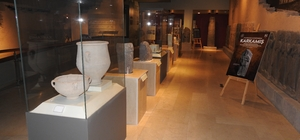 Karkamış Antik Kenti'nden kaçırılan eserler 91 yıl sonra anavatanlarına getirildi Kaçırılmasında İngilizlerin parmağı olan eserler 91 yıl sonra Gaziantep'e getirildi