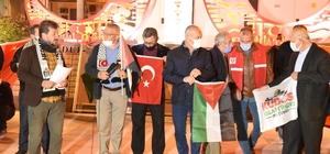 Balıkesir'den İsrail'e tepki