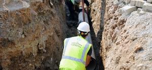 Palamutbükü'nde içme suyu hatları yenileniyor Muğla'nın Datça ilçesi Yaka Mahallesi Palamutbükü mevkii içme suyu yenileme çalışmalarına başladı.