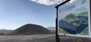 """Meke Gölü'nü kurtaracak projede çalışmalar sürüyor Bakan Murat Kurum: """"Meke Gölü'nü arıtma tesisinden arıtılan sular ve farklı su kaynakları ile destekleyeceğiz"""""""