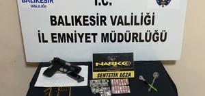 Balıkesir'de polisten narkotik operasyonu