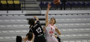 Turgutlu Belediyespor Kadın Basketbol Takımı son grup maçına çıkıyor