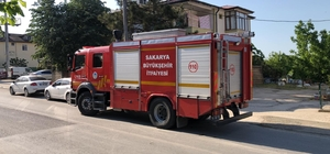 İki katlı evin alt katında çıkan yangın itfaiye tarafından söndürüldü