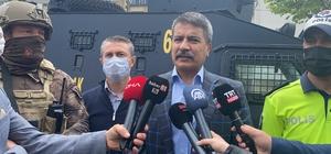 Gerçeğini aratmayan tatbikat Trabzon Emniyet Müdürlüğü tarafından 'Tam kapanma harekatı' adında tatbikat yapıldı