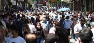 Gaziantep'te tam kapanmanın ardından caddeler doldu taştı Gaziantep'te korkutan görüntüler
