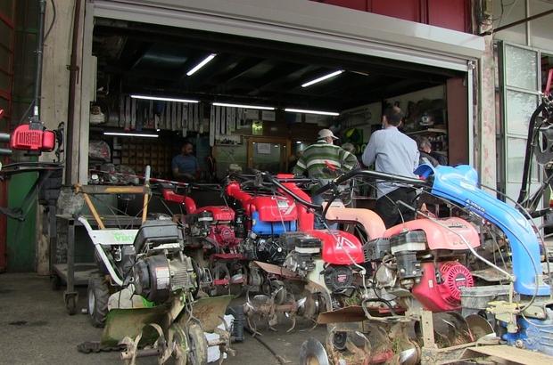 Artvin'de tam kapanma sonrası çiftçiler sanayiye akın etti Bozulan tarım aletlerini tamir ettirmek için sıraya girdiler