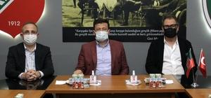 """Turgay Büyükkarcı: """"Çok yakın bir sürede stadımızın başlayacağının müjdesini vereceğiz"""""""