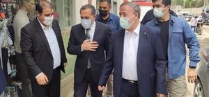 Başkan Sabırlı'dan Milletvekili Arvas'a teşekkür