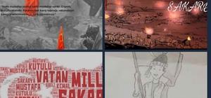 Erzurum'da 'Vatan Millet Sakarya' eTwinning projesi