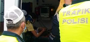 Tekirdağ'da feci kaza sonrası küçük kıza bakıp ağladı