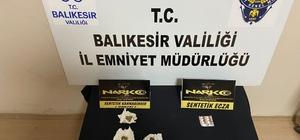 Balıkesir'de polisten 34 şahsa asayiş ve uyuşturucu operasyonu