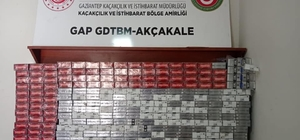 Şanlıurfa'da kaçakçılığa geçit yok Gümrük kapısında 3 bin 200 paket kaçak sigara ele geçirildi