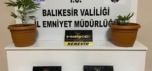 Balıkesir'de polisten 37 şahsa uyuşturucu ve asayiş göz altısı