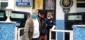"""Faslı kaçak """"Ben Yunanistan'a gideceğim"""" diyerek polisin yüzünü tırmaladı"""