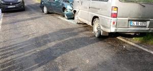 Görele'de iki araç kafa kafaya çarpıştı: 4 yaralı