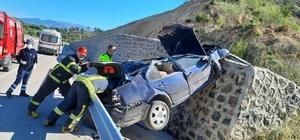 Gediz'de trafik kazası: 1 ölü