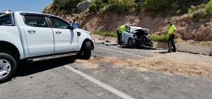 İzmir'de trafik kazası: 1 ölü, 3 yaralı