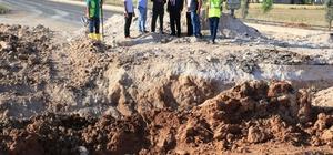 Akçakale-Şanlıurfa yolu son etap çalışmalarına başlandı