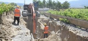Manisa'da 30 milyon TL'lik çevreci yatırımın çalışmalarına başlandı Yıllık 1 milyon 800 bin metreküp atık su arıtımı yapılacak