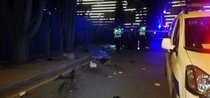 Kaldırımdaki beton mantara çarpan üniversite öğrencisi moto kurye hayatını kaybetti Siparişe giden genç moto kurye kazada yaşamını yitirdi