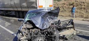 Batman'da beton mikseri ile otomobil çarpıştı: 1 ölü, 1 yaralı