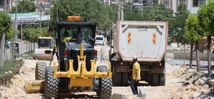 Şanlıurfa'da çöken yollarda yeniden düzenleme