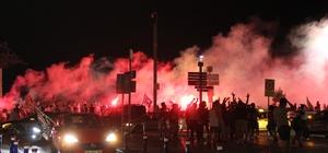 Altaylı taraftarlar Süper Lig'i kutladı