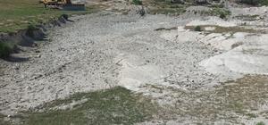 Kuşluk Mahallesi'nde hayvan içme suyu göleti genişletiliyor