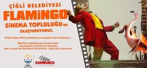 Çiğlili sinemaseverler Flamingo Sinema Topluluğunda buluşuyor