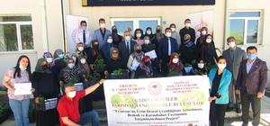 Erzurum'da sebze yetiştiriciliğine kadın eli değecek