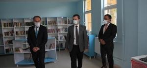 Malazgirt'te okul yenileme çalışması